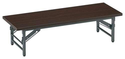 自治会集会所に最適な座卓式折りたたみ会議用テーブル