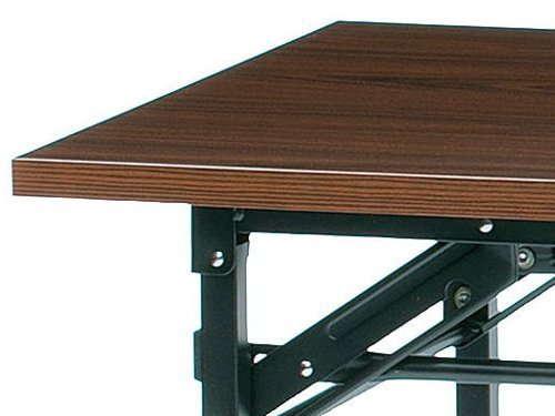 折りたたみテーブルのMDF化粧板、メラミン化粧板