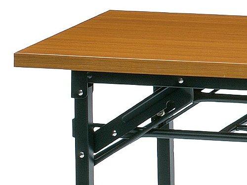 折りたたみテーブルのテーブル縁材 共貼りの例