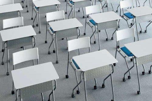 一人がけ用の会議用テーブル